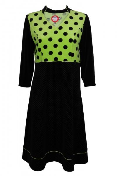 7f35d81c3613 Tove Dress And Velvet Koko ko Ko Black Lime waSwnPHxq7
