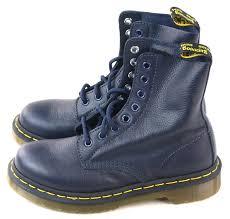 9804aa5aefa8 Dress blue leather boots 1460 Pascal DrMartens - ko:ko