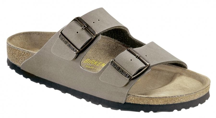 82f173d7a8d Birkenstock sandal Arizona grå smal modell - ko:ko